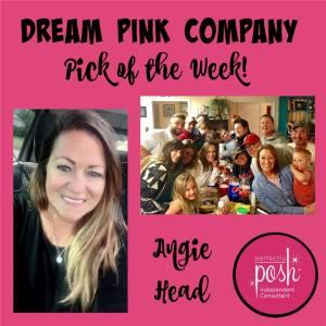 team dream pink posh