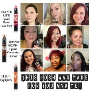 posh makeup sticks