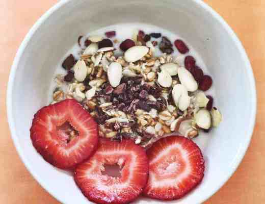 High in Fiber Breakfast : Overnight Muesli Recipe