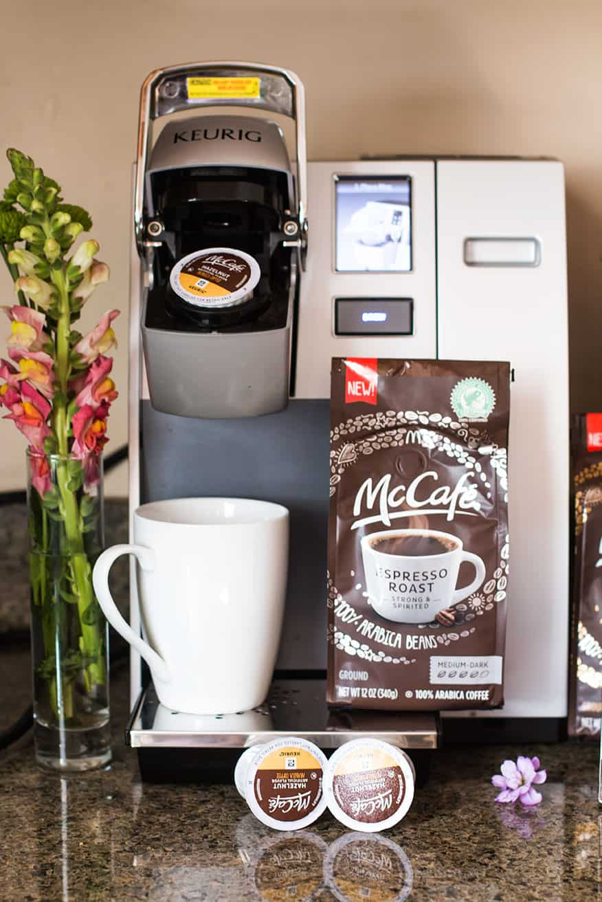 McCafe' Packaged Coffee - Brimming with Taste for the Holidays