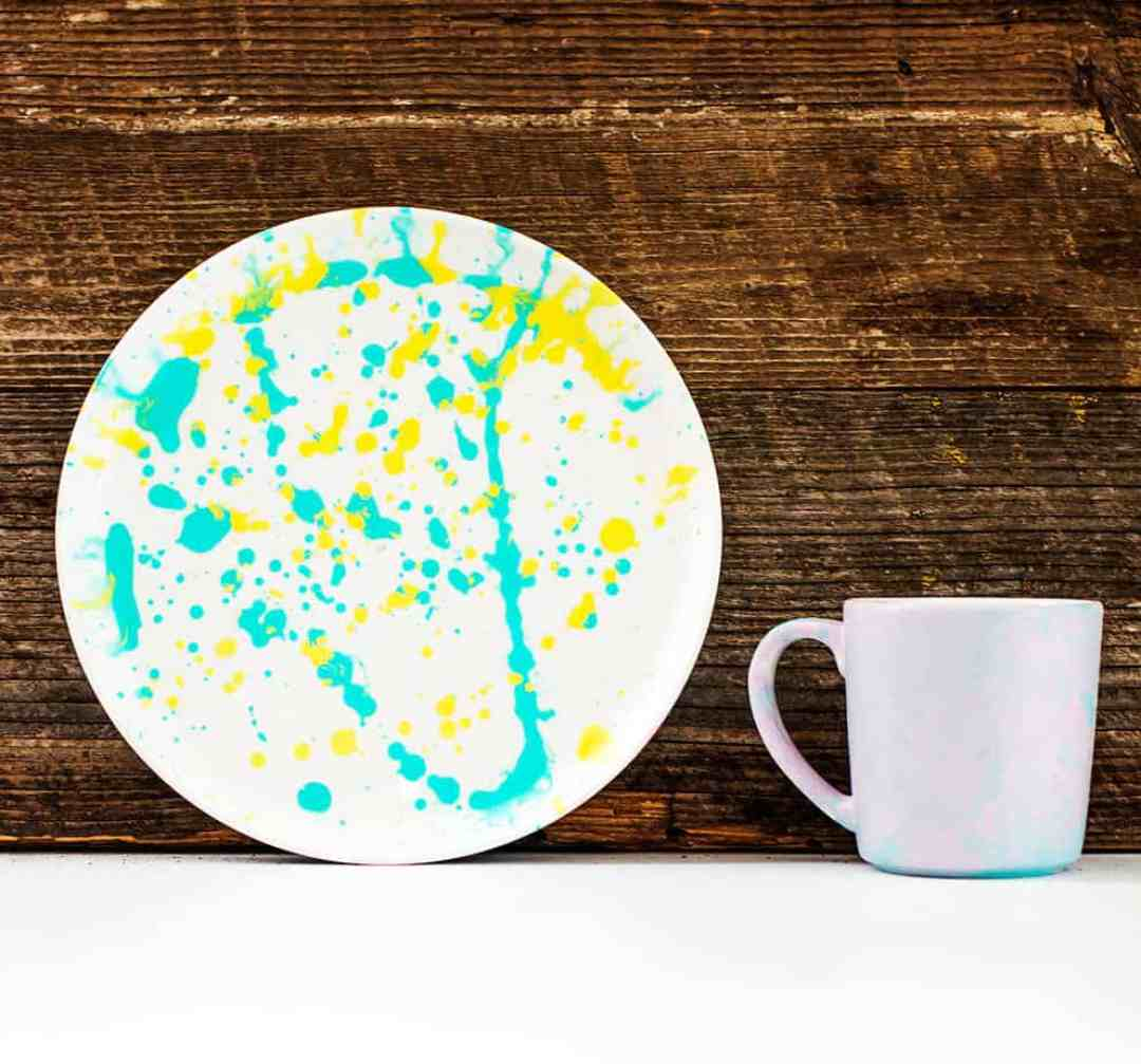 diy painted plates