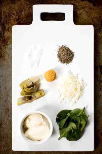 easy spinach artichoke dip recipe ingredients