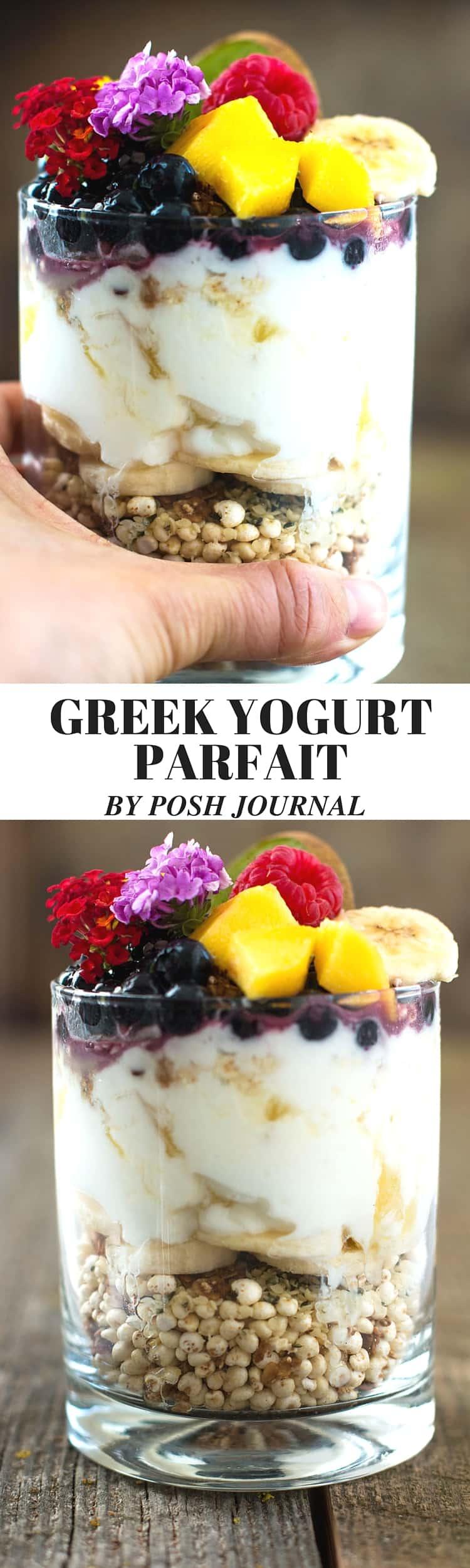 easy fruit yogurt parfait recipe