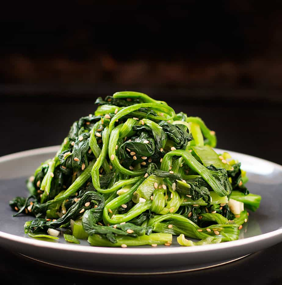 Korean Spinach Salad Recipe (Siguemchi Namul)