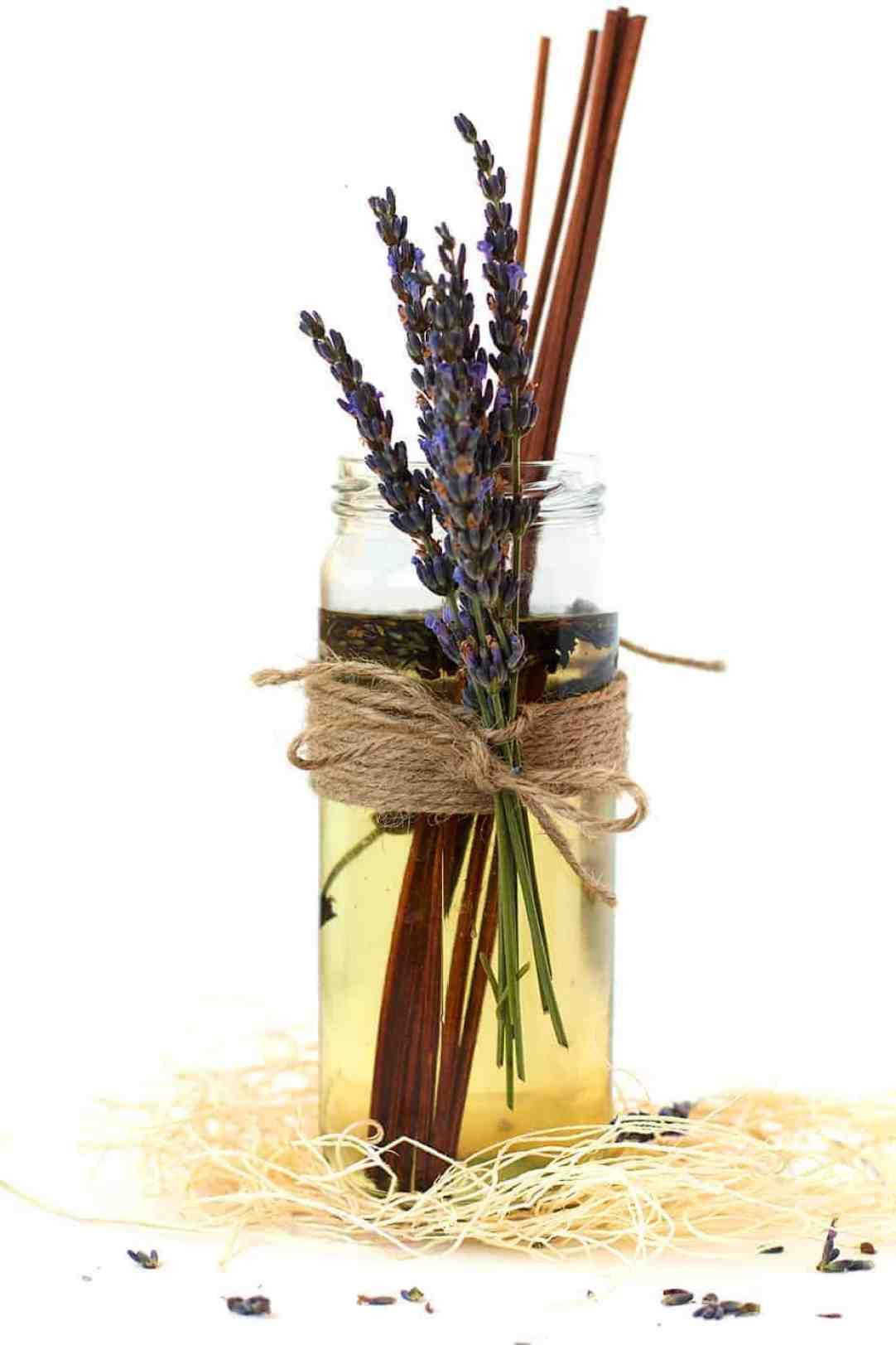 DIY Lavender Oil Diffuser