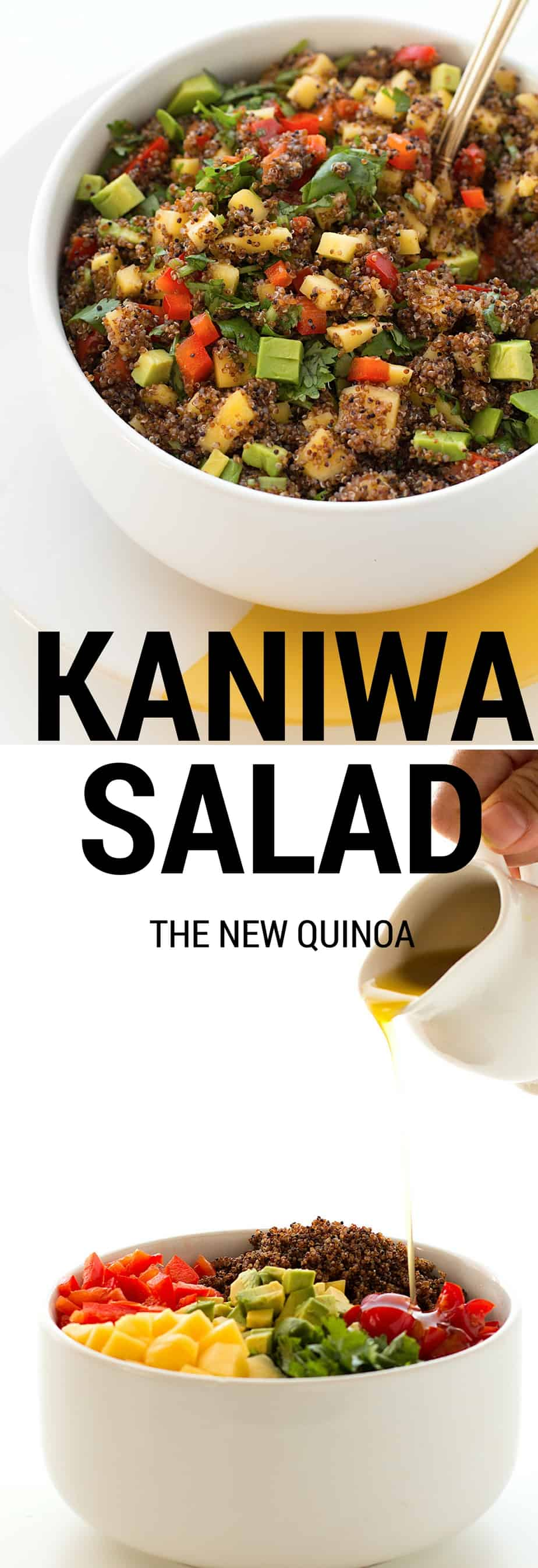 KANIWA SALAD THE NEW QUINOA. I present to you kaniwa, a supergrain related to Quinoa. Both kaniwa and quinoa are good sources of protein, calcium, iron and flavonoids. Quinoa seems to get all of the attention these days but kaniwa are smaller in size which gives them a completely different experience and texture in whatever dish you are preparing, be it a kaniwa salad, a kaniwa breakfast recipe (Kaniwa pancakes are amazing), or a Kaniwa Mexican recipe (like Kaniwa fritadas). These superfood grains are gluten-free and can be consumed by those who suffer from coeliac disease.