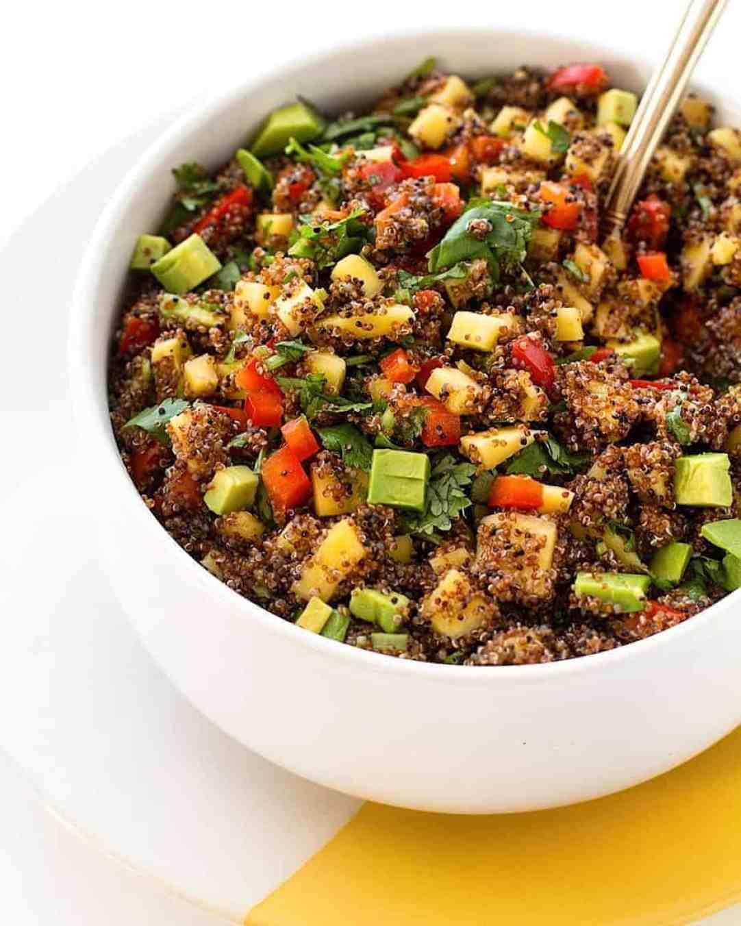ancient grains kaniwa salad