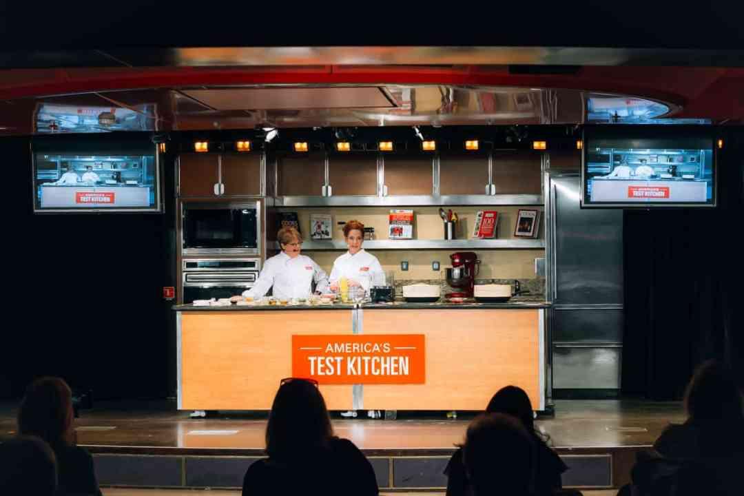 holland america westerdam test kitchen america