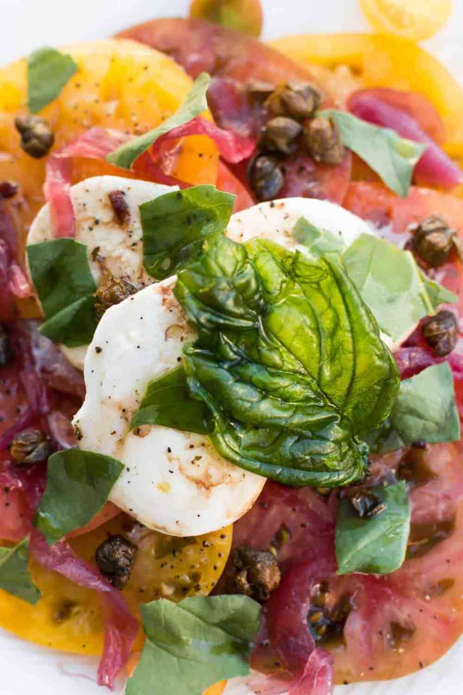 jacks restaurant lounge portola hotel Heirloom Tomato Salad