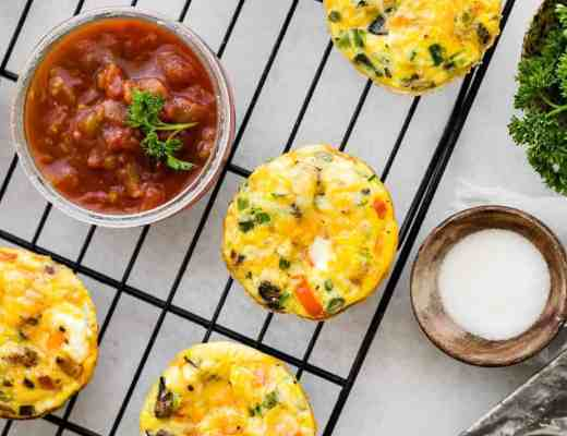 BAKED EGG MUFFINS BREAKFAST IDEAS