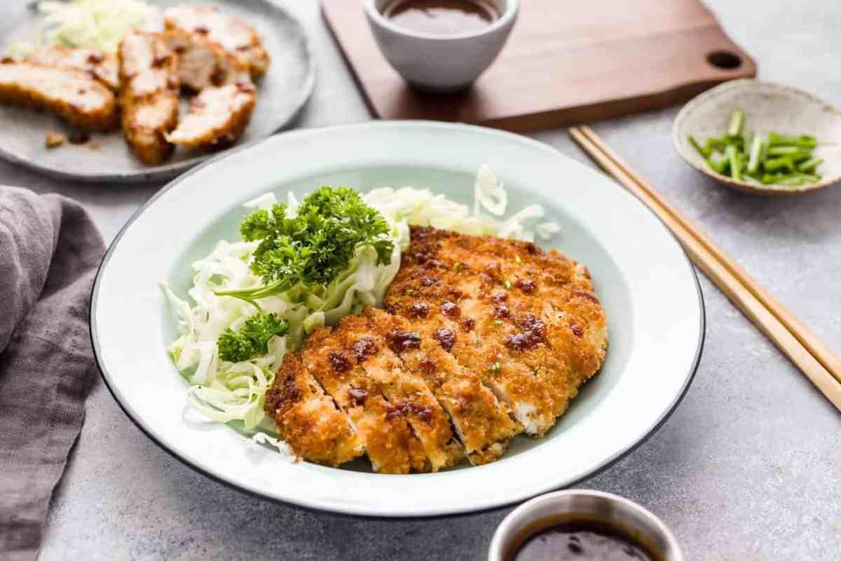 Panko Breaded Chicken Katsu