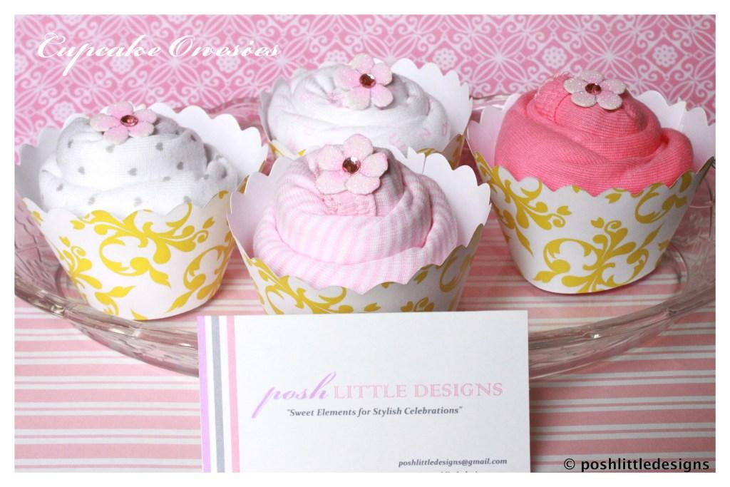 Posh Gifts ~ Onesie Cupcakes – Etsy