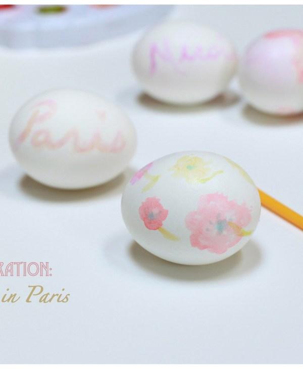 Hand Painted Easter Eggs – DIY