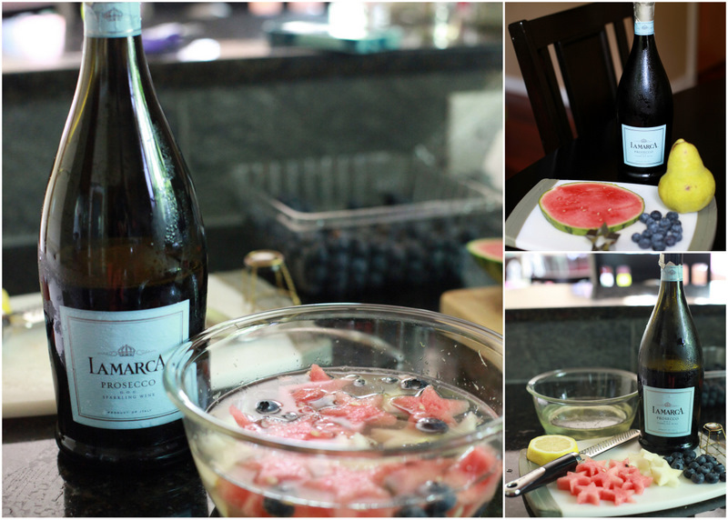 Make – Prosecco Infused Fruit ~ Red, White & Blue