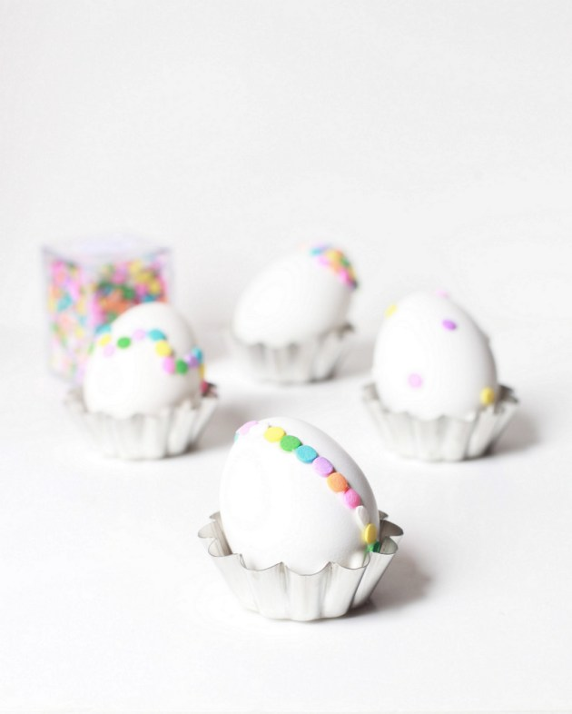 Confetti Easter Egg DIY   Posh Little Designs