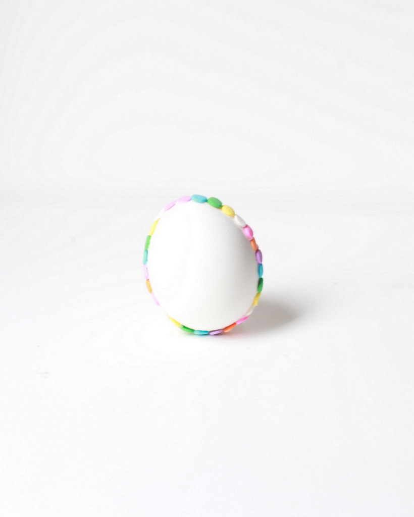 DIY Confetti Easter Egg, egg decorating ideas - Posh Little Designs