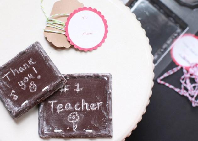 DIY Chocolate Chalkboards | Posh Little Designs