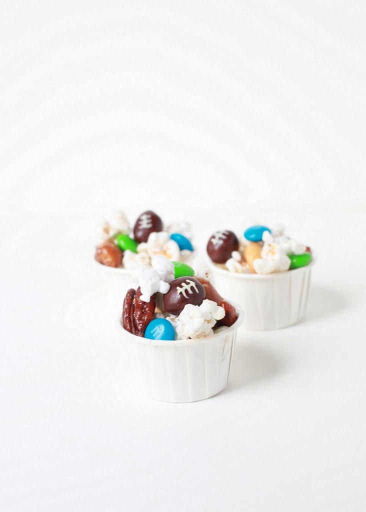 Super Bowl Party Popcorn Recipe   Posh Little Designs