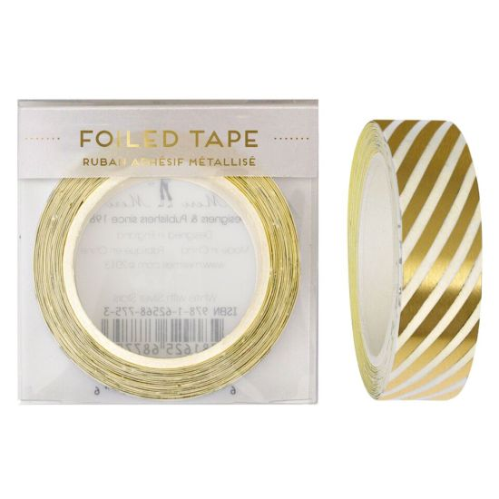 Gold Foiled Tape