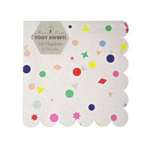 Toot Sweet Charms Small Napkin