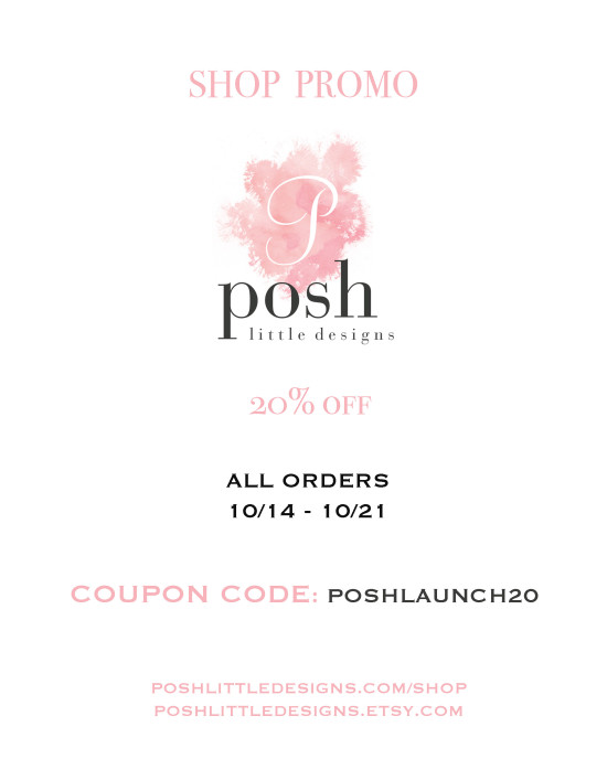 Posh Little Designs Coupon