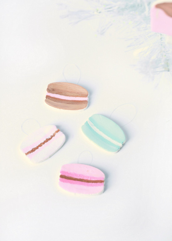 DIY Macaron Ornaments | Posh Little Designs