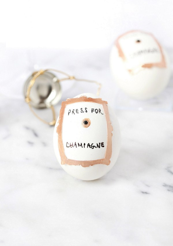 Press For Champagne Easter Eggs