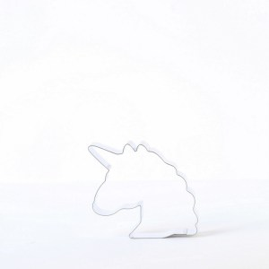emoji unicorn cookie cutter