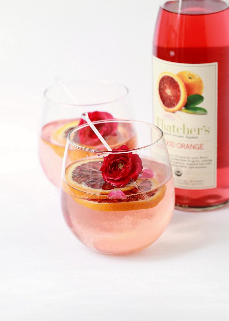 Sunday Sips – Blood Orange Rose Sangria