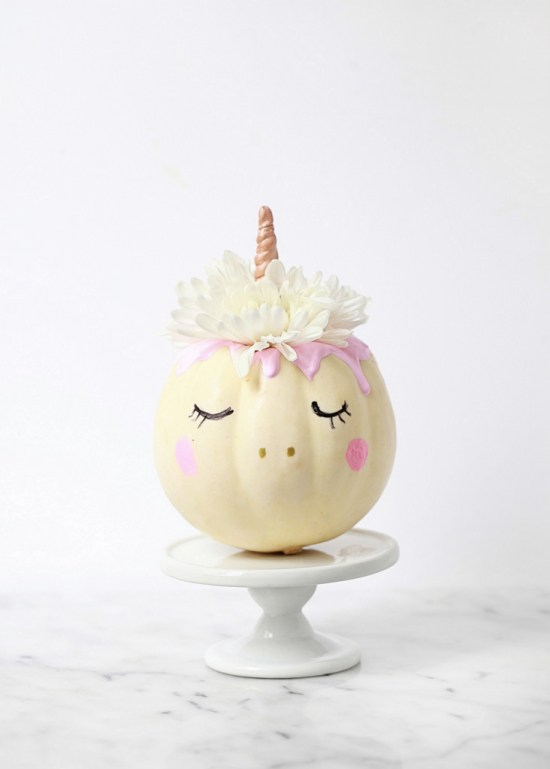Mini Pumpkin Unicorn - DIY | Posh Little Designs