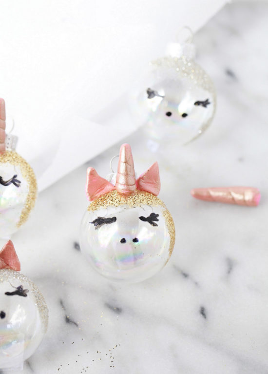 Unicorn Ornaments | Posh Little Designs