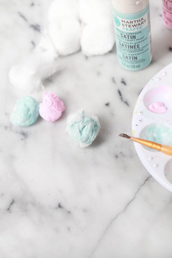 Cotton Candy Easter Eggs | Posh Little Designs