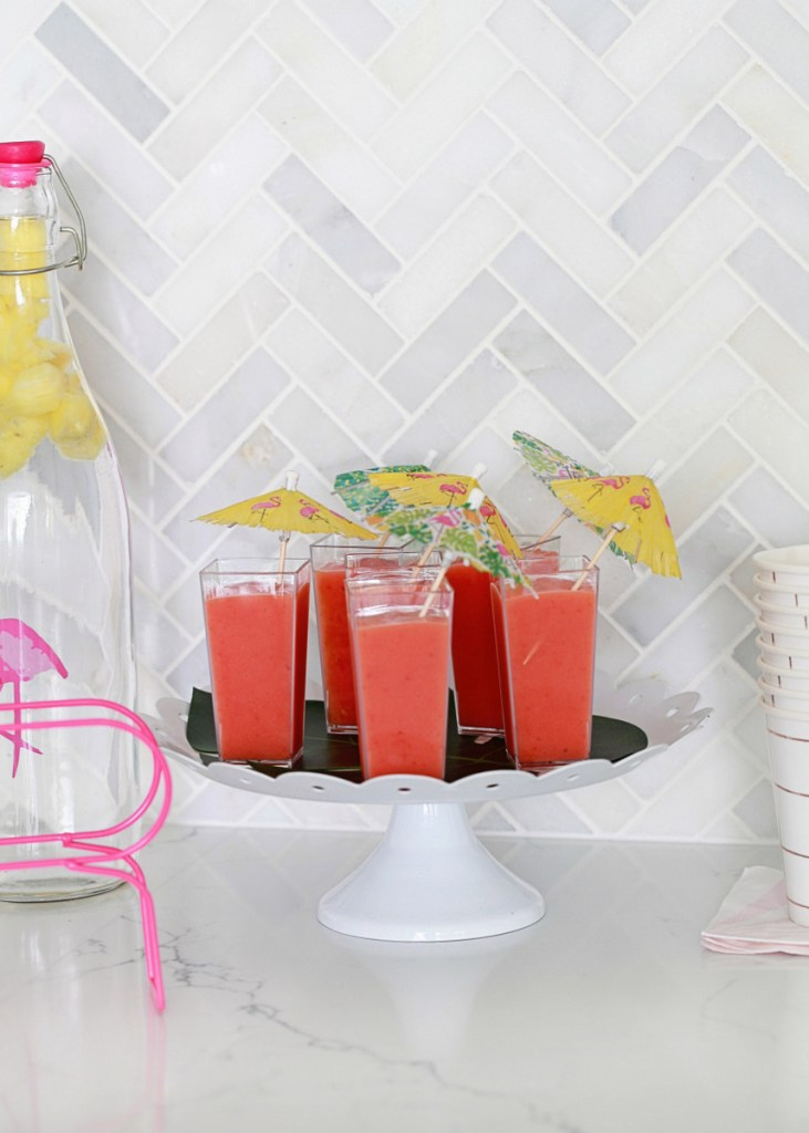 party drinks - smoothies