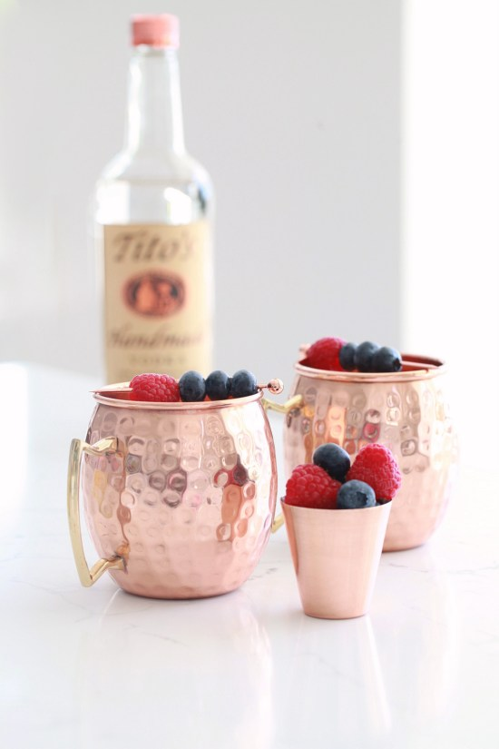 Berry Moscow Mule, Cocktail