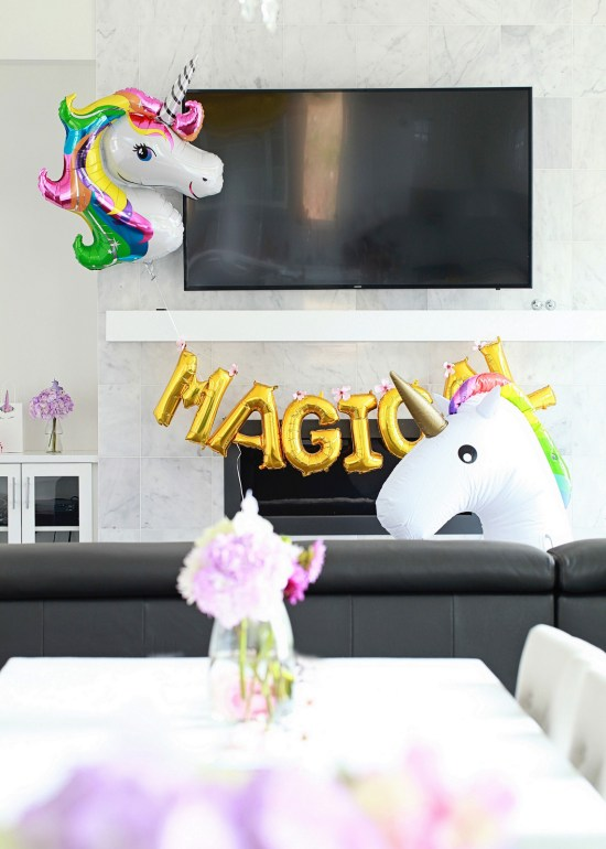 Unicorn Birthday, Party, Children