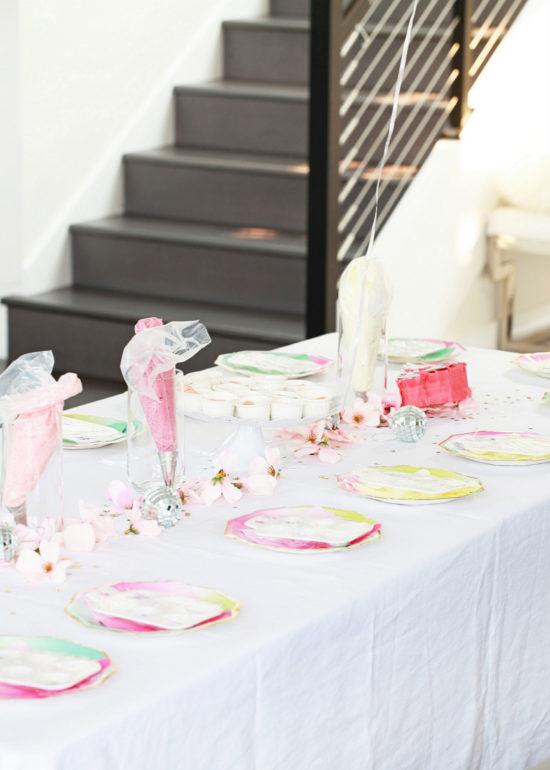 Unicorn Birthday, Party, Cupcake Decorating