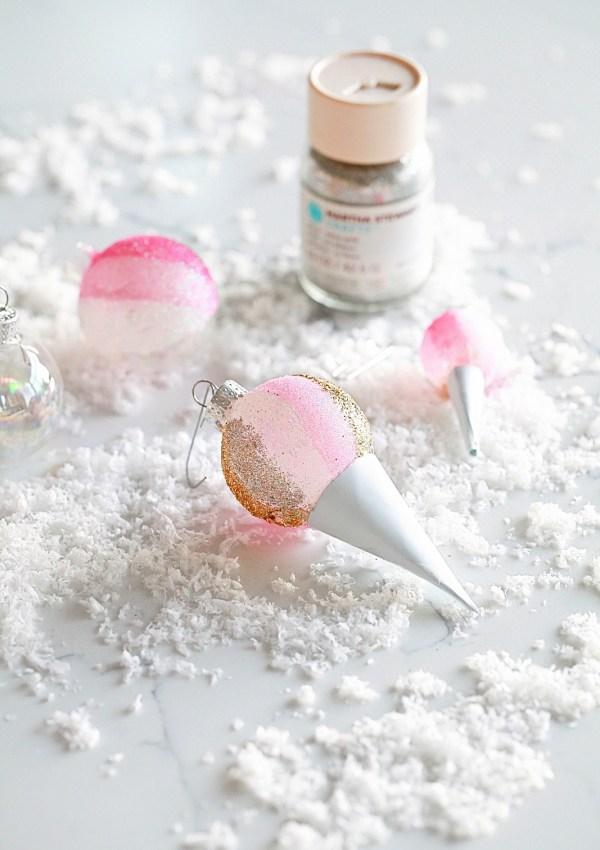 Snow Cone Ornaments – DIY