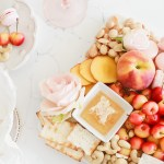 Peach - Charcuterie-Fruit-Cheese-Dessert-Board-Appetizers-Entertaining