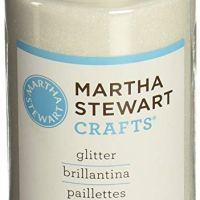 Martha Stewart Crafts Fine Glitter, Crystal, 4.58 Ounces