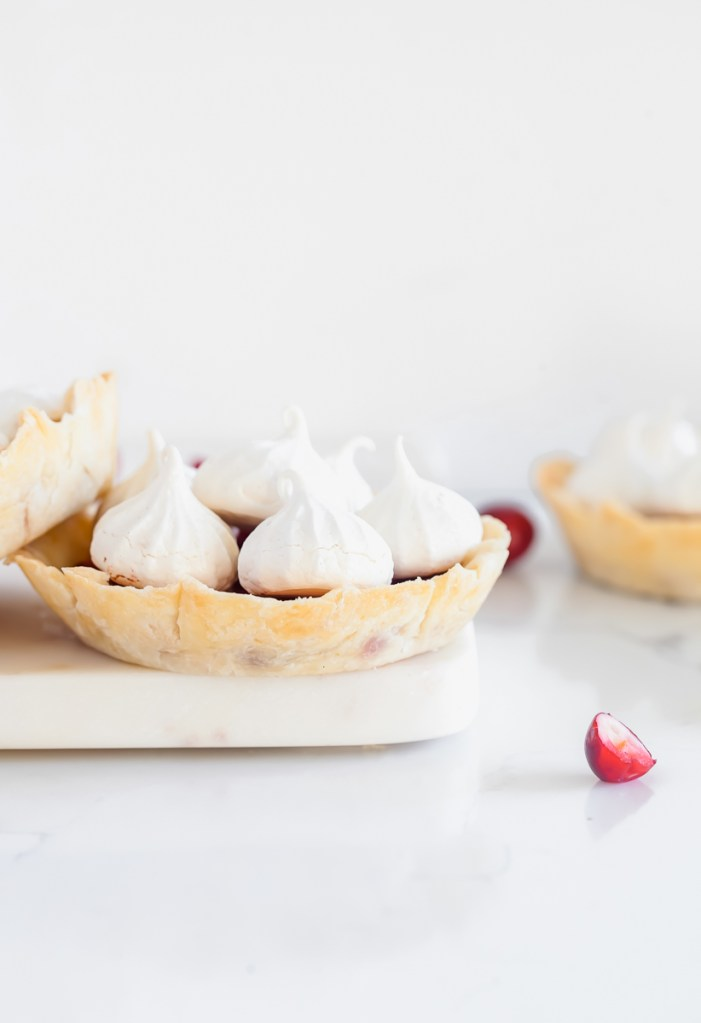 Cranberry Meringue Tart | Posh Little Design
