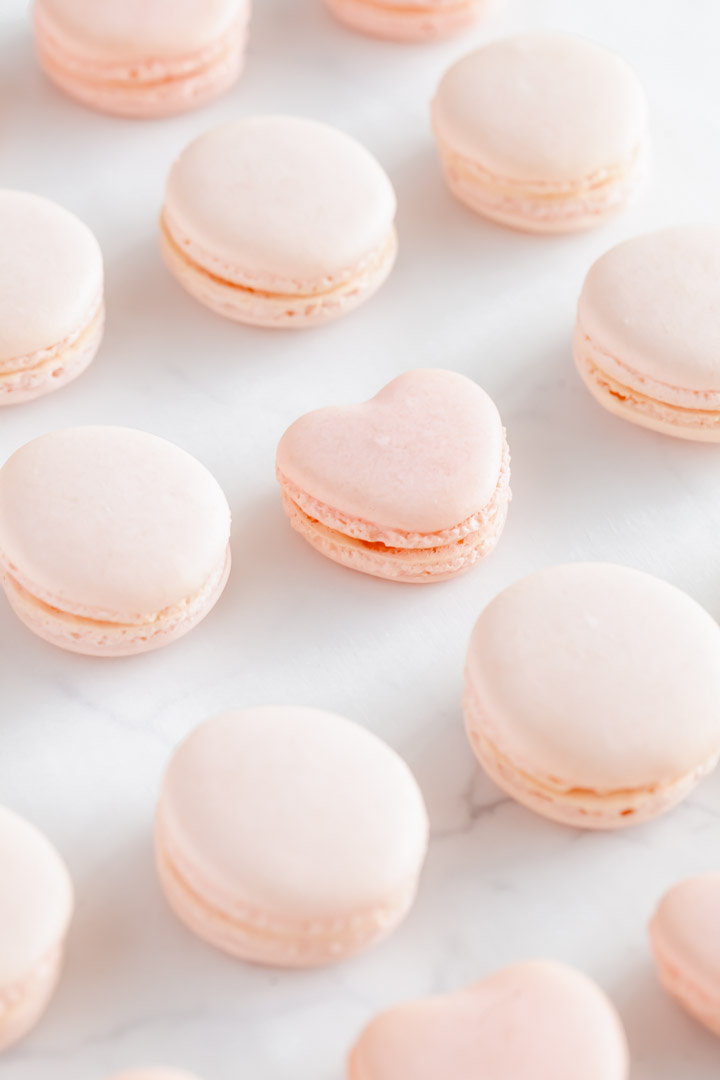step by step guide and tutorial for making French macarons using the Italian meringue method. Trusted and approved, best macaron recipe