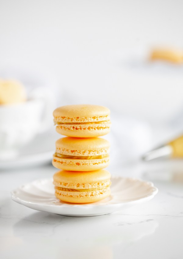 Golden Milk Turmeric Macarons