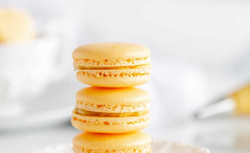 Golden Milk Turmeric Macarons