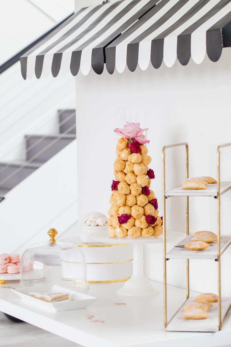 cream-puff-tower-parisian-birthday-party