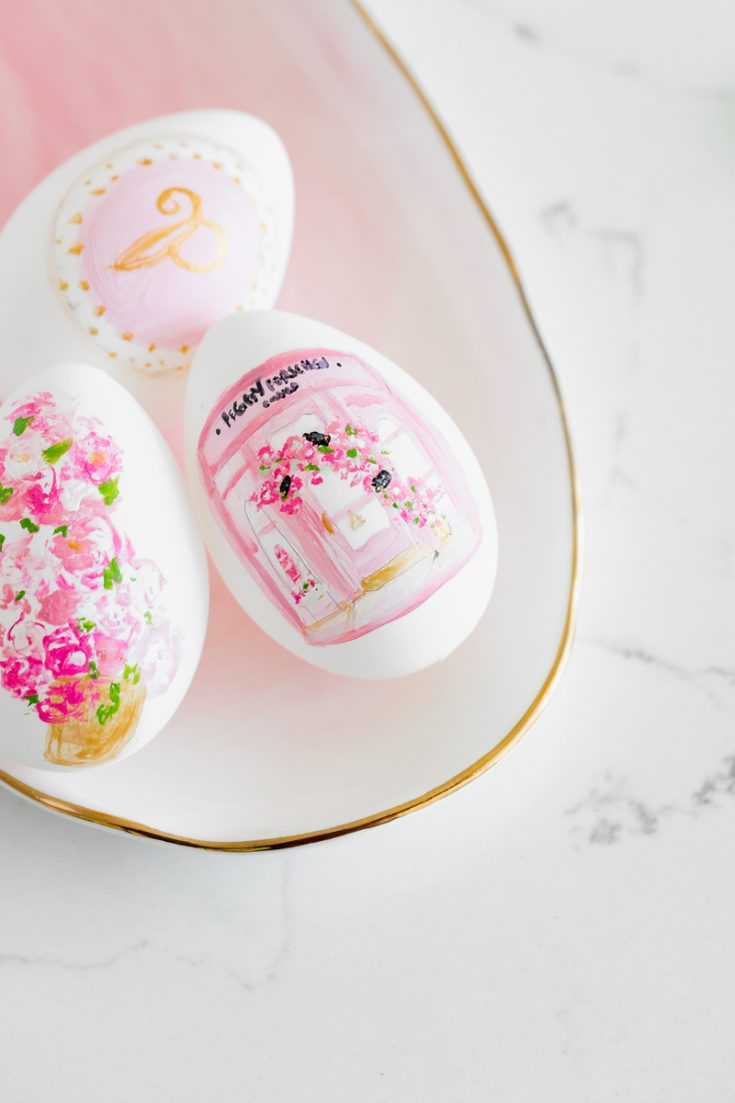 Peggy Porschen Painted Easter Eggs