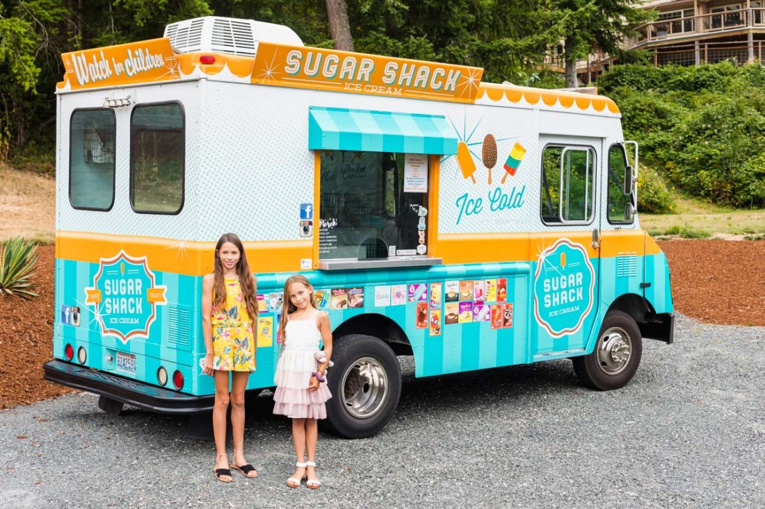 Sugar shack ice cream truck