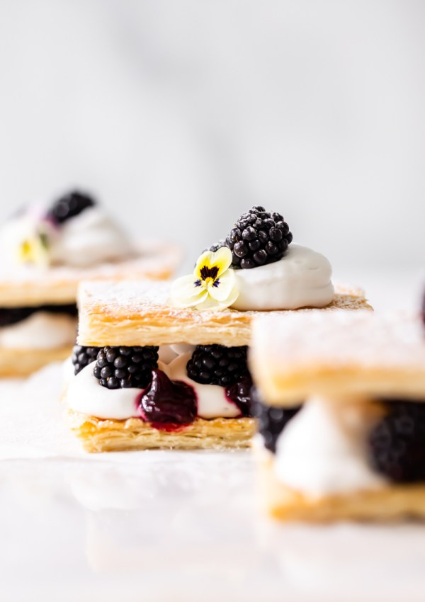 How to make Berry Mille-feuille / Napoleon