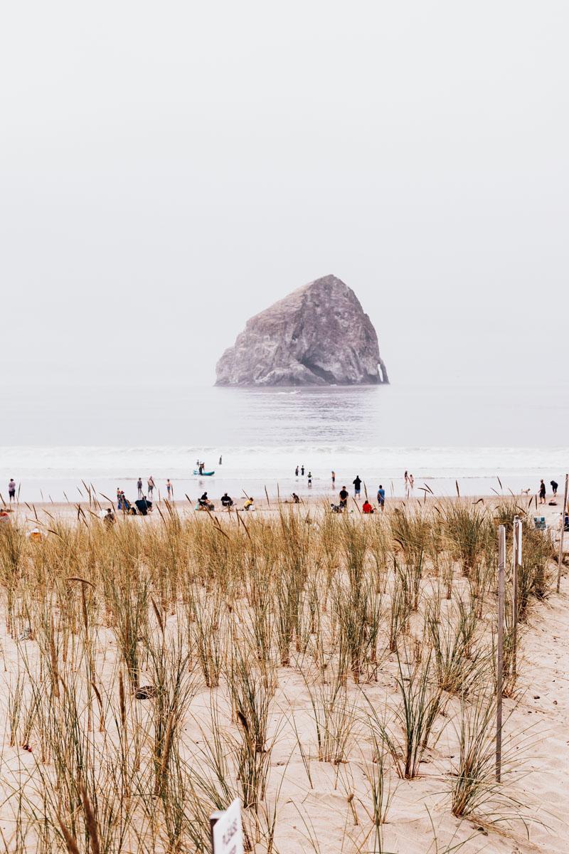 Pacific City, Oregon Coast, Beach travel destinations, Haystack rock