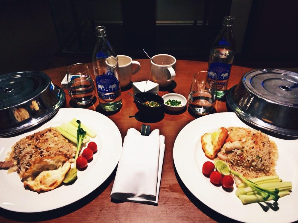 Room Service at Anantara Hotel - Bangkok
