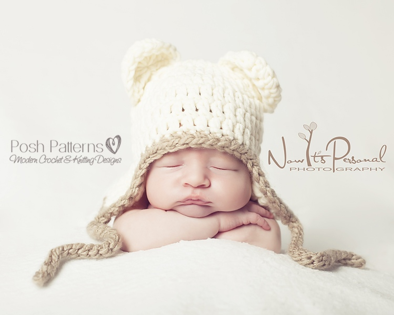 Teddy Bear Hat Crochet Pattern